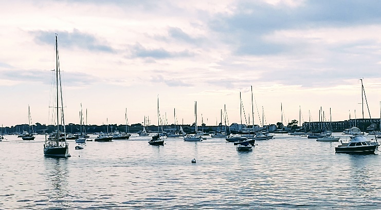 Harbor, Newport, Rhode Island